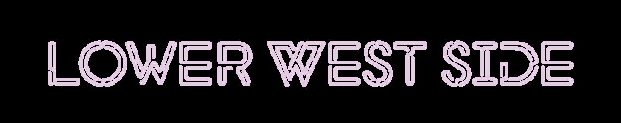 Lower West Side Wine Bar Neon Logo